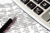 Calculations,accounting concept — Stock Photo