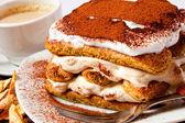 Tiramisu cake — Stock Photo