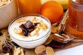 Healthy breakfast — Stock Photo