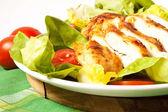 Chicken breast sliced — Stock Photo