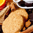 Grain Biscuits — Stock Photo