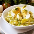 Egg and potato salad — Stock Photo