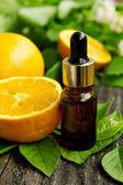 Wellness orange essence — Stock Photo