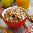 Muesli breakfast — Stock Photo