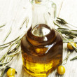 Stock Photo: Olive Oil Bottle