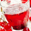 Cherry Tea — Stock Photo