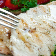 Grilled chicken breast — 图库照片