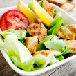 Vegetables salad with grilled chicken breast — Stock Photo