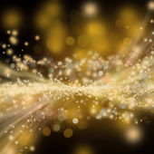 Golden shiny holiday background — Stock Photo
