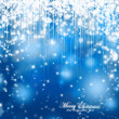 Merry Christmas Festive Sparkle Background — Stock Photo
