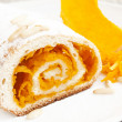 Pumpkin Cake Roll — Stock Photo #33828795