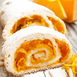Pumpkin Cake Roll — Stock Photo #33828797