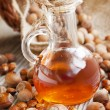Stock Photo: Hazelnut Oil Bottle