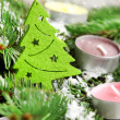 christmas tree decoration — Stock Photo