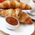 Постер, плакат: French Breakfast with Croissants