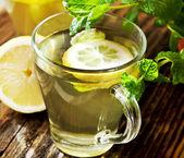 Té con limón — Foto de Stock