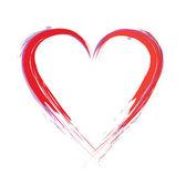 Paint heart — Stock Vector