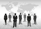 İş takım — Stok Vektör