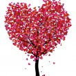 Heart tree — Stock Vector #18955697