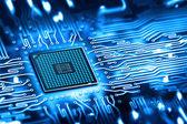 Geïntegreerde microchip — Stockfoto