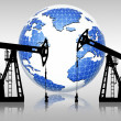 Stock Photo: Global oil resources
