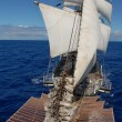 Sailing ship in ocean — Foto de stock #13482492