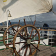 Wheel and parts sailing ship — Stock Photo #13566261