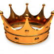Golden crown — Stock Photo