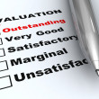 Outstanding evaluation — Foto de Stock