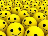 Happy smiles — Stock Photo