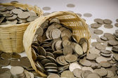Stack of coin — Stock Photo