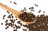 Black pepper — Stock Photo