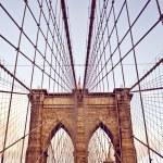 Постер, плакат: Brooklyn Bridge in New York