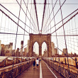 brooklyn bridge in new york — Stock Photo #13747022