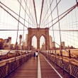 Brooklyn Bridge in New York — Stock Photo #13747038