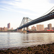 The Manhattan Bridge — Stock Photo