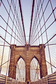 Brooklyn Bridge in New York — Photo
