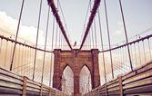 Pont de Brooklyn à new york — Photo