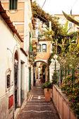 Vista da cidade de minori, itália — Foto Stock