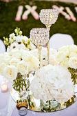 Wedding glasses set — Stock Photo