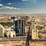 Aerial view of Las Vegas — Stock Photo