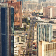 aerial view of las vegas — Stock Photo