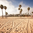 Stock Photo: SantMonicBeach, California, USA