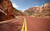 Zion national park, etats-unis — Photo