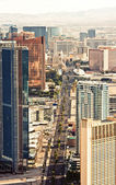 Aerial view of Las Vegas — Photo