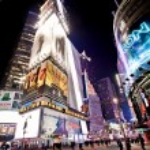 Broadway Theaters, New York City. — Stock Photo