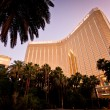 Stock Photo: Night view of Mandalay Bay Hotel