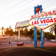 Stock Photo: The Welcome to Fabulous Las Vegas sign