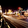 Stock Photo: Vegas Strip at night