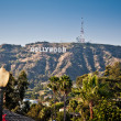 Hollywood sign - Foto de Stock